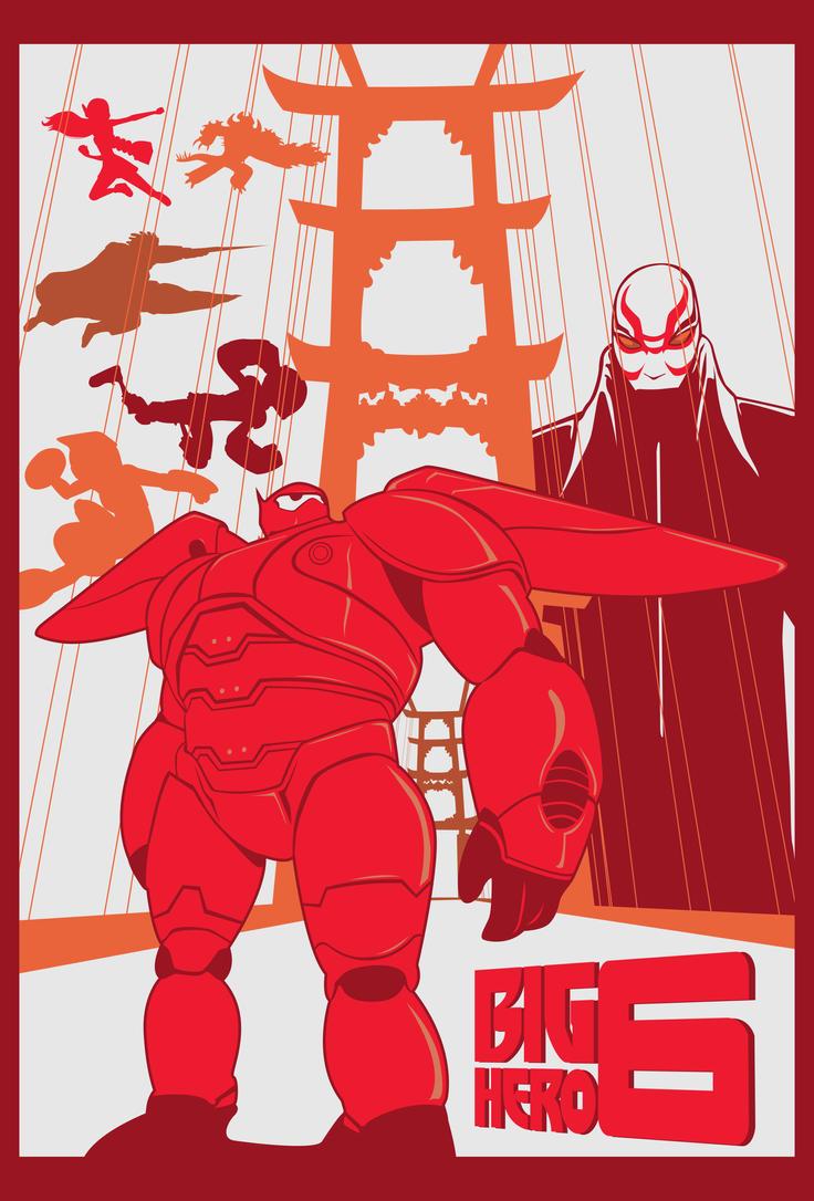 Big Hero Six by enitsujsuarez16