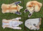 (sold) - mountable dakota gold fox cape