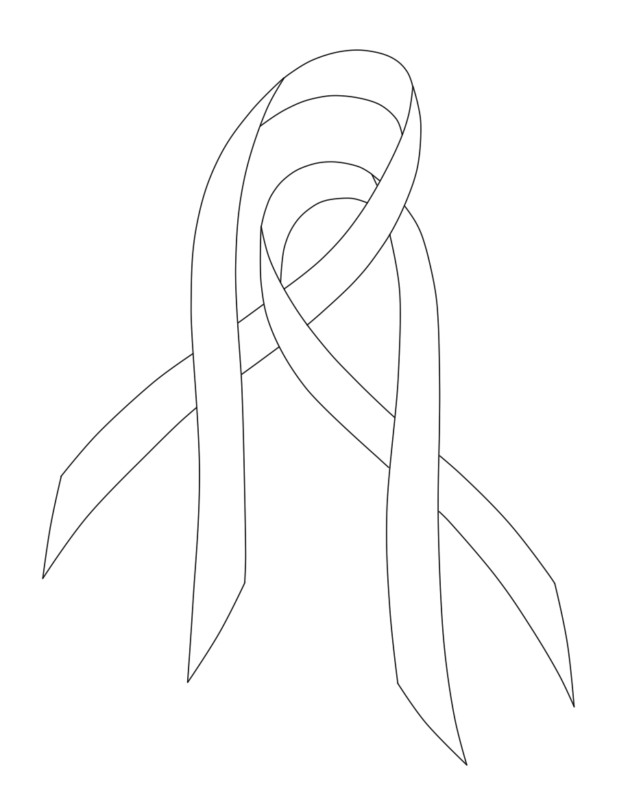 Linked Cancer Ribbons By Alwaysforeverhailey On Deviantart Drawing