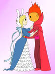 Fionna and Flame Prince ~ Formal Wear