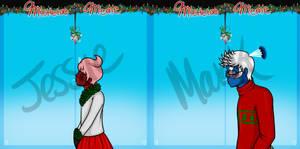 Mistletoe Meme ~ Jessie and Mark