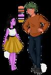 Tobi and Ralph by AlwaysForeverHailey