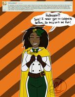 Adelle Q: Halloween by AlwaysForeverHailey