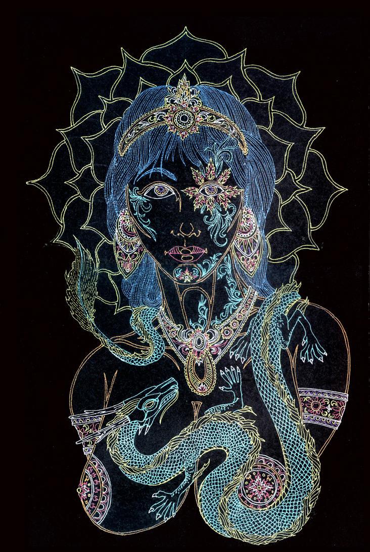 Prima Vera - The Flower Child by Lakandiwa