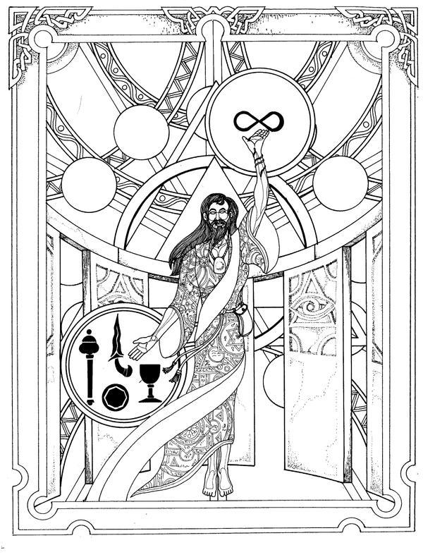 The Mage by Lakandiwa