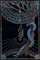 Arcana - The Hanged Man by Lakandiwa