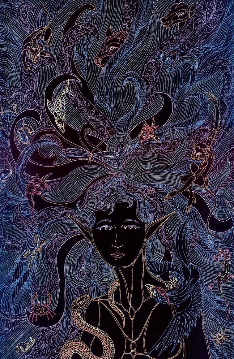 The Goddess Listens by Lakandiwa