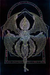 Angellum - Ophanim by Lakandiwa