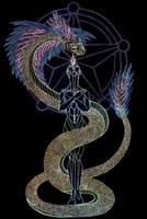 Quetzalcoatl by Lakandiwa