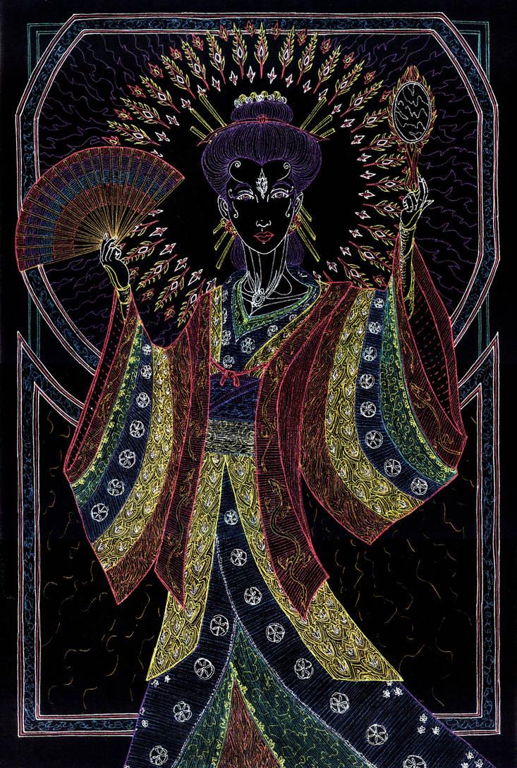 Amaterasu Hi by Lakandiwa