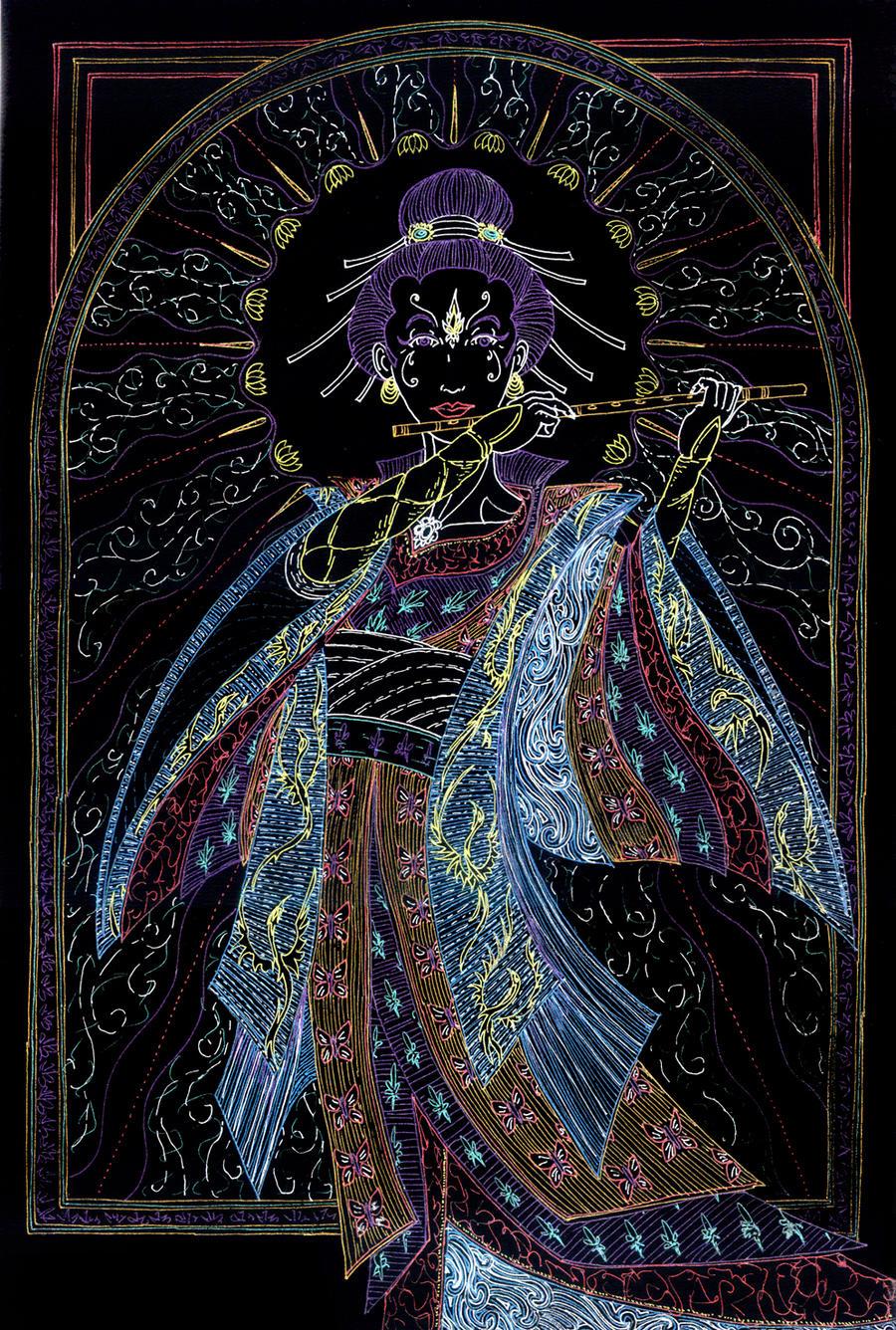 Amaterasu Kaze by Lakandiwa