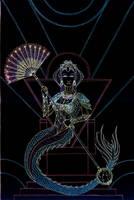 Nueva Arcana - the Maiden by Lakandiwa