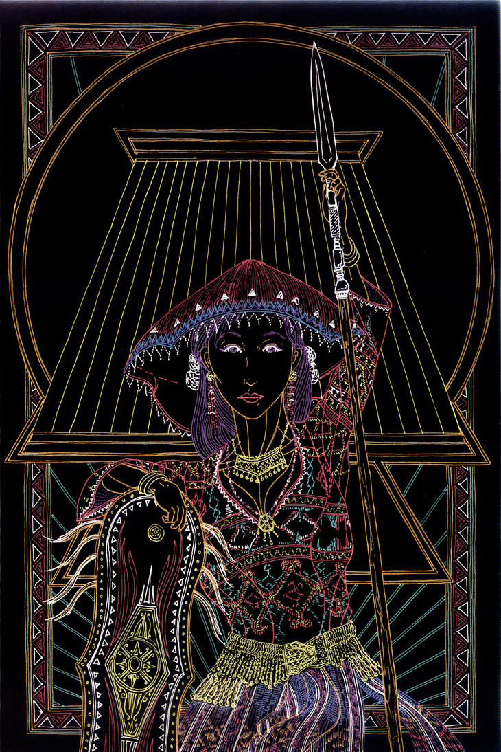 Bai Apoy - Lady of the Flame by Lakandiwa