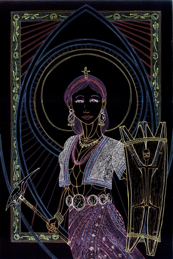 Bai Hangin - Lady of the Winds by Lakandiwa