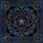 Mandala of the Heart of Light by Lakandiwa