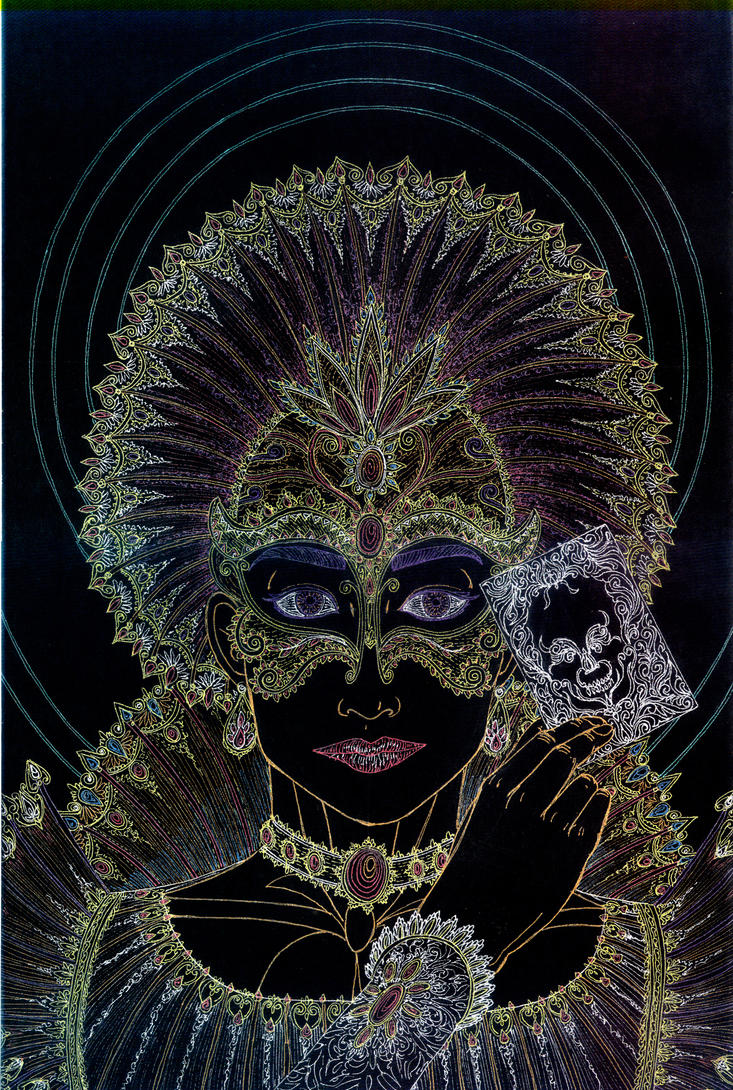 Mardi Gras - Wrath by Lakandiwa