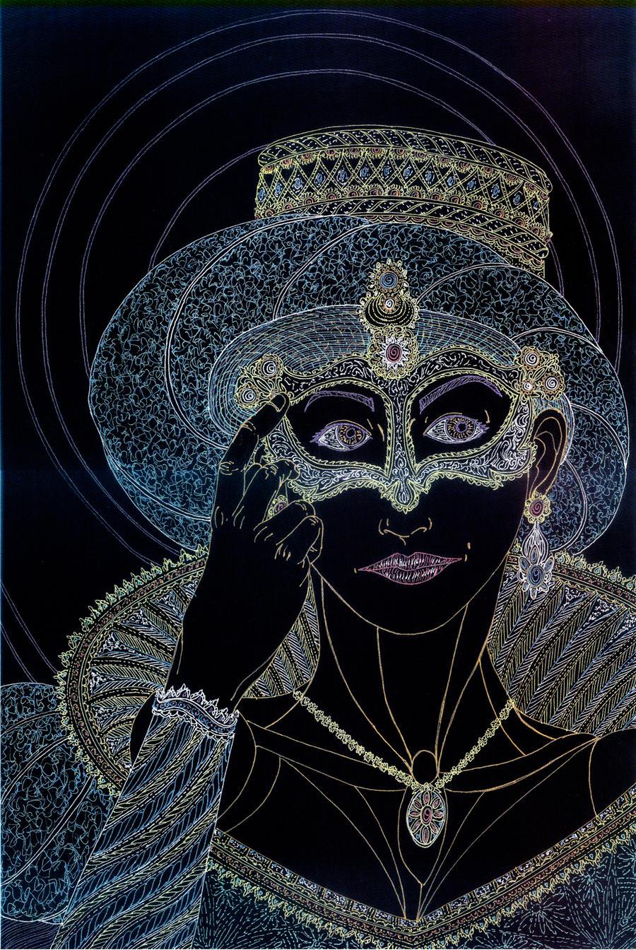 Mardi Gras - Sloth by Lakandiwa