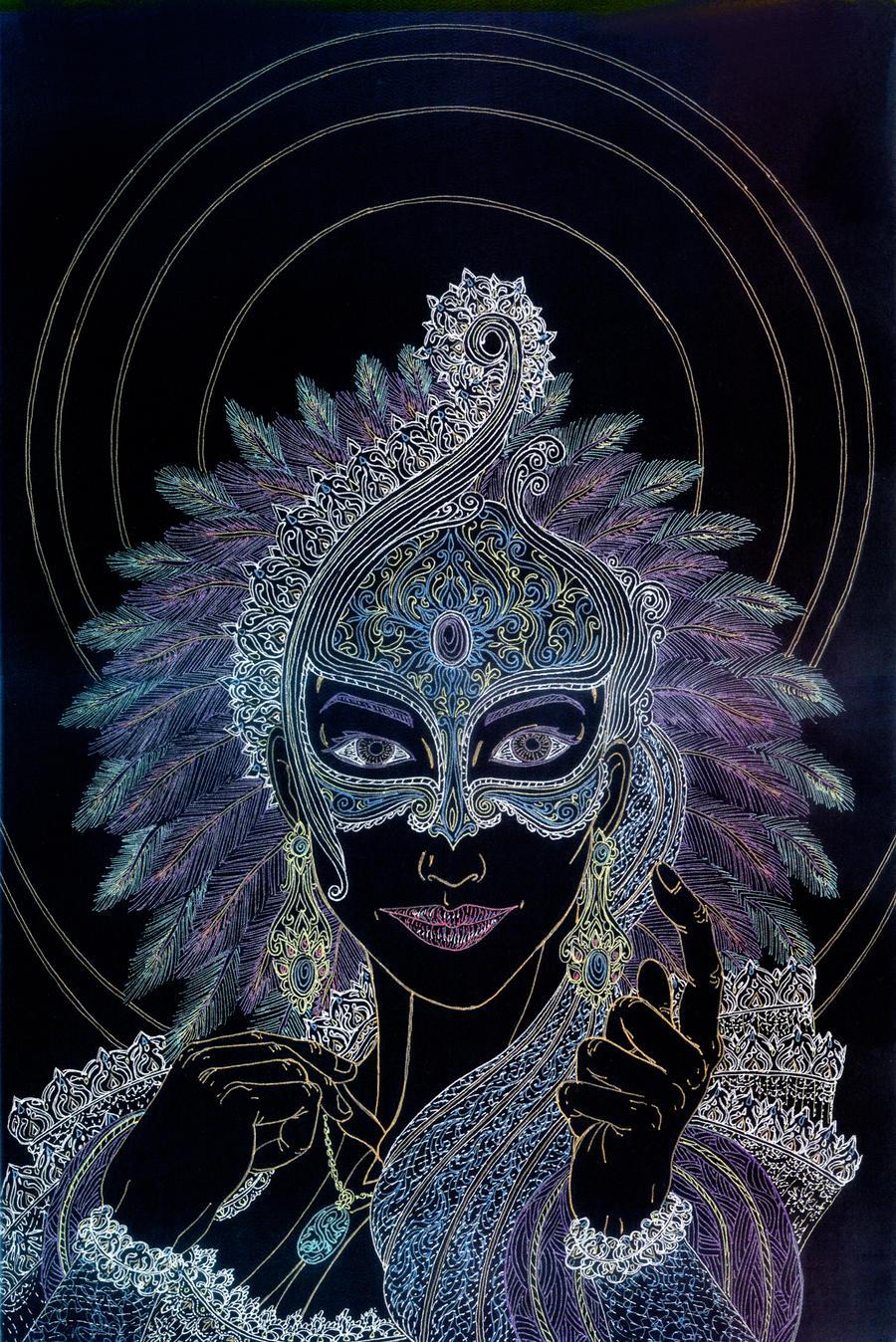 Mardi Gras - Lust by Lakandiwa
