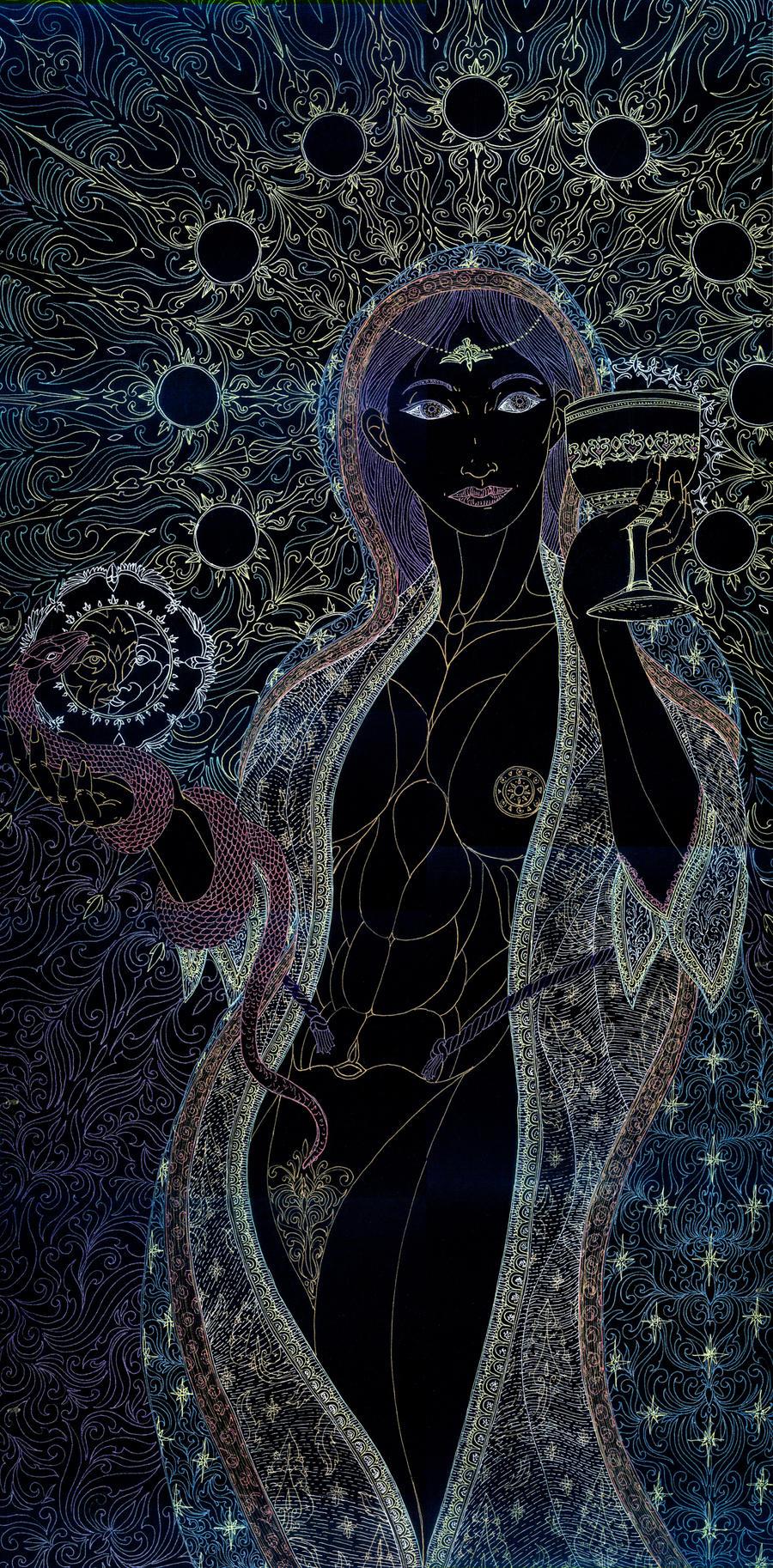 Lady Coatlaxpeuh by Lakandiwa
