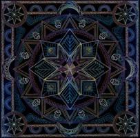 Mandala of the Eternal Oasis by Lakandiwa