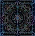 Mandala of the Minstrel of Light by Lakandiwa