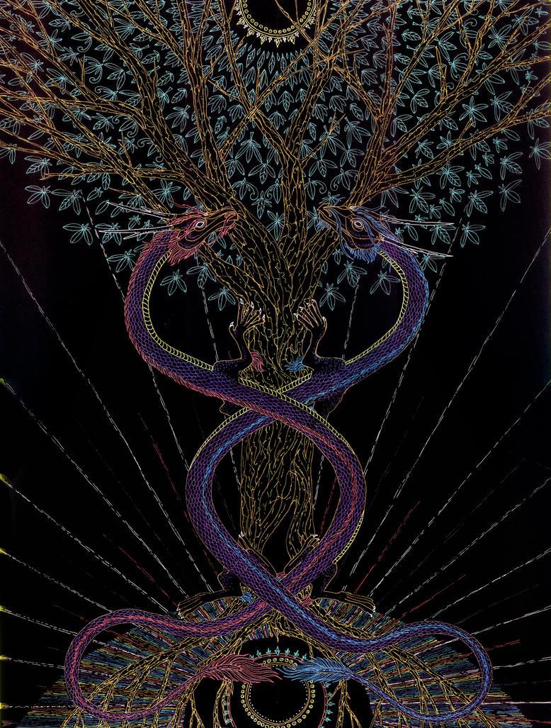 The Tree of Life - Healing by Lakandiwa