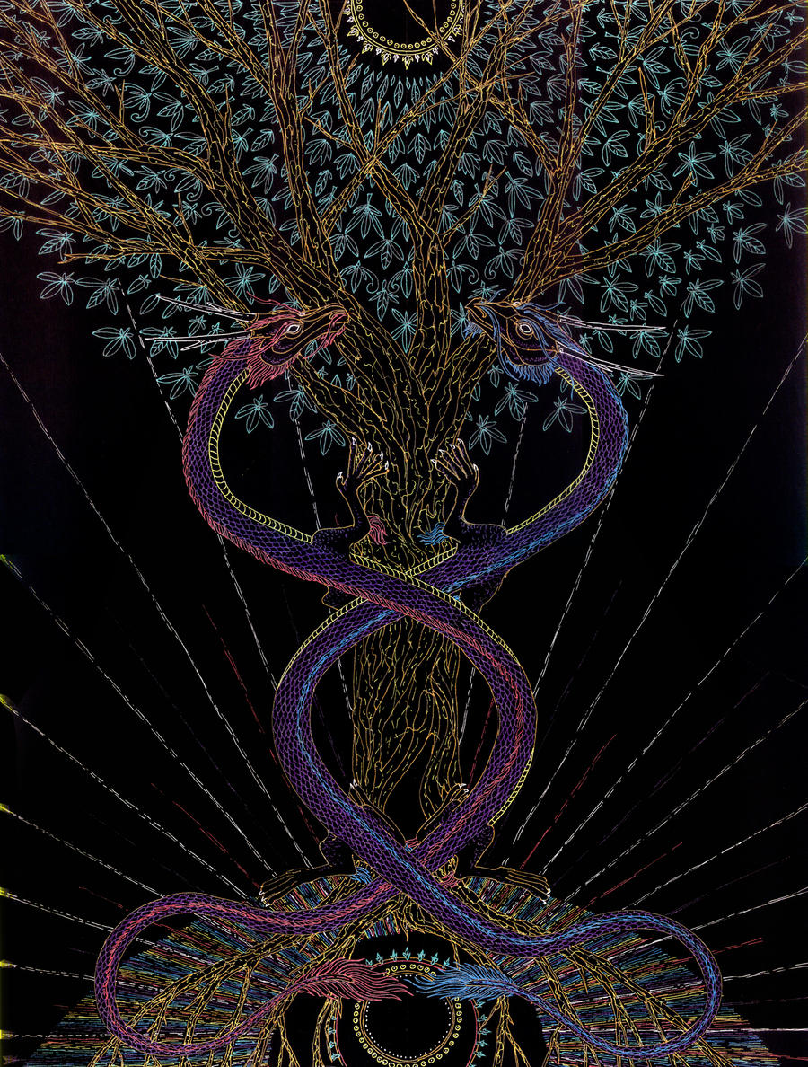 The Tree of Life - Healing by Lakandiwa