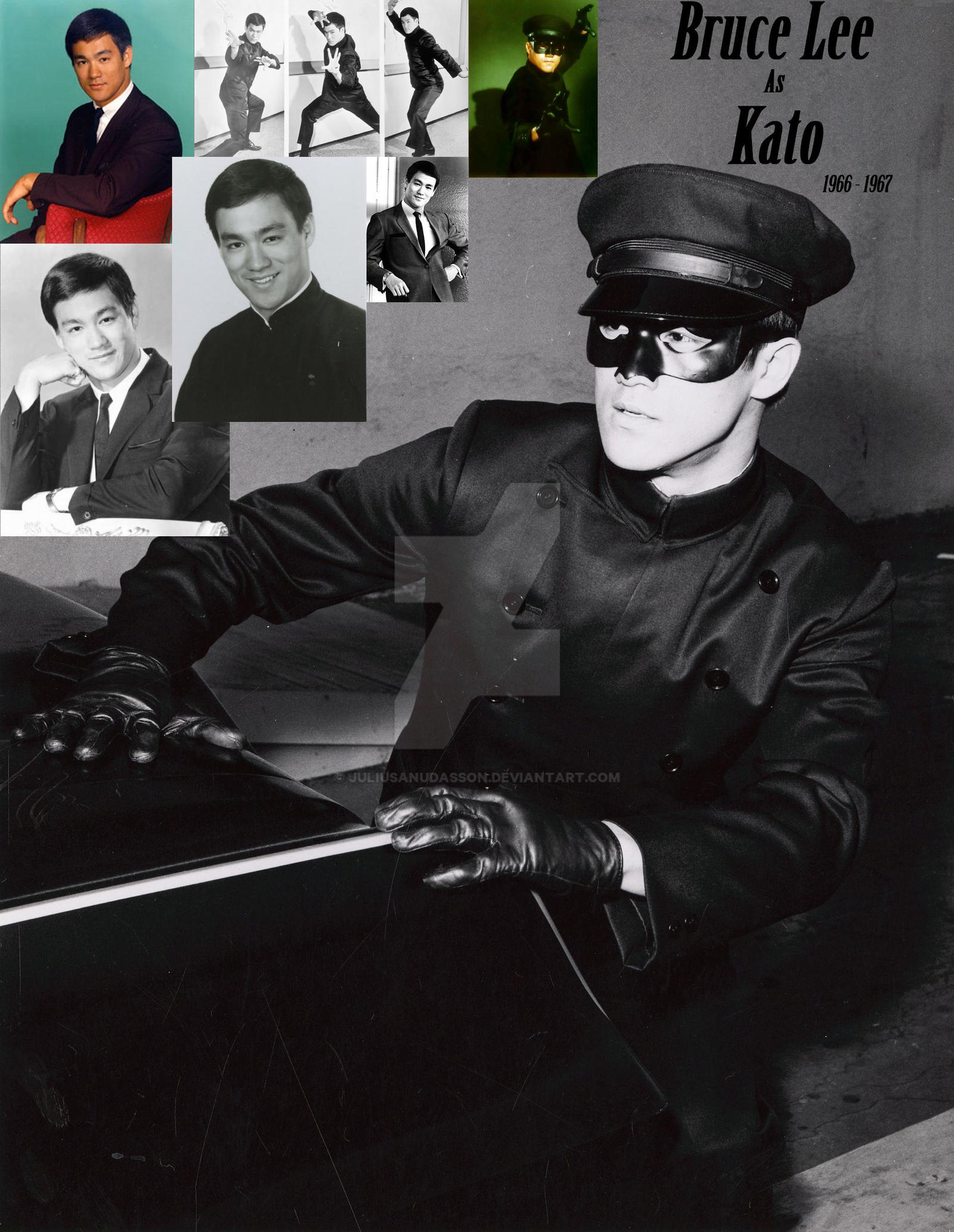Bruce Lee as Kato 1966...