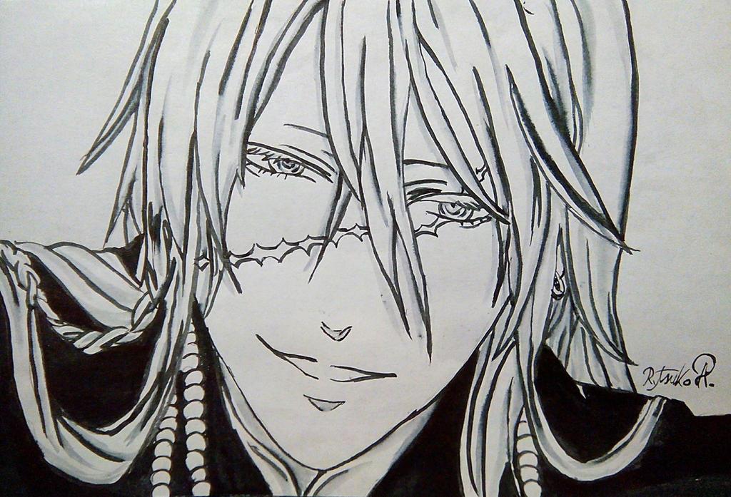 UndertakerKuroshitsuji Black Butler By RytsukoElric