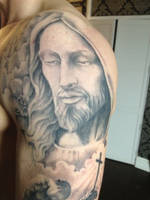 Jesus Tattoo by Green-Jet