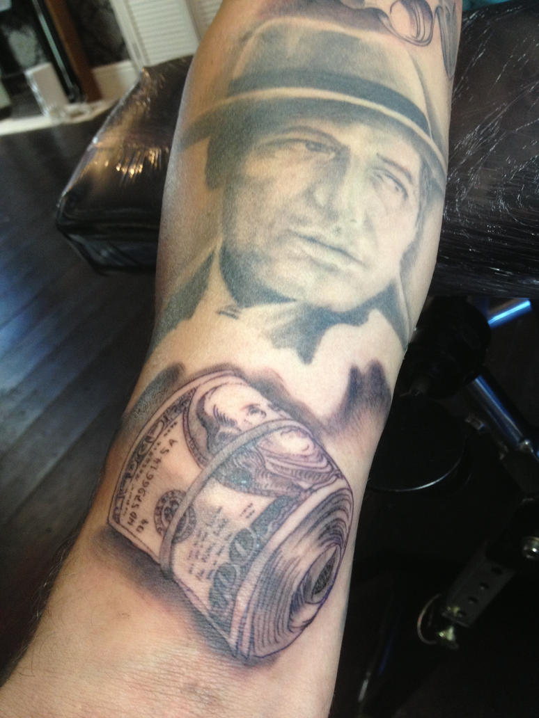 Dollar Bill Tattoo by Green-Jet