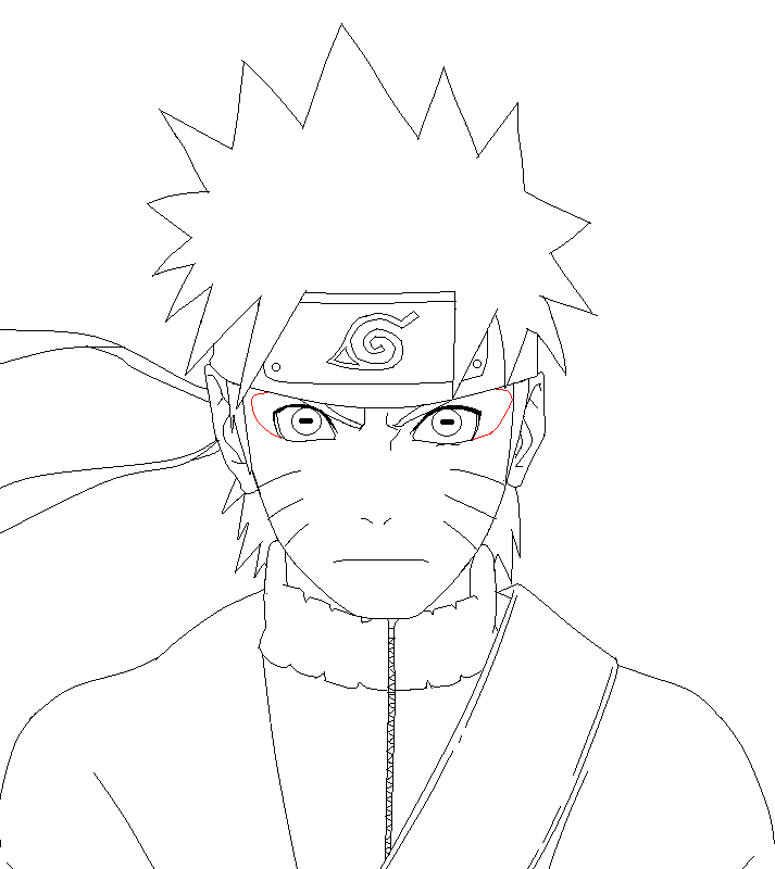 Naruto Sage Mode LineArt by SonBui on DeviantArt