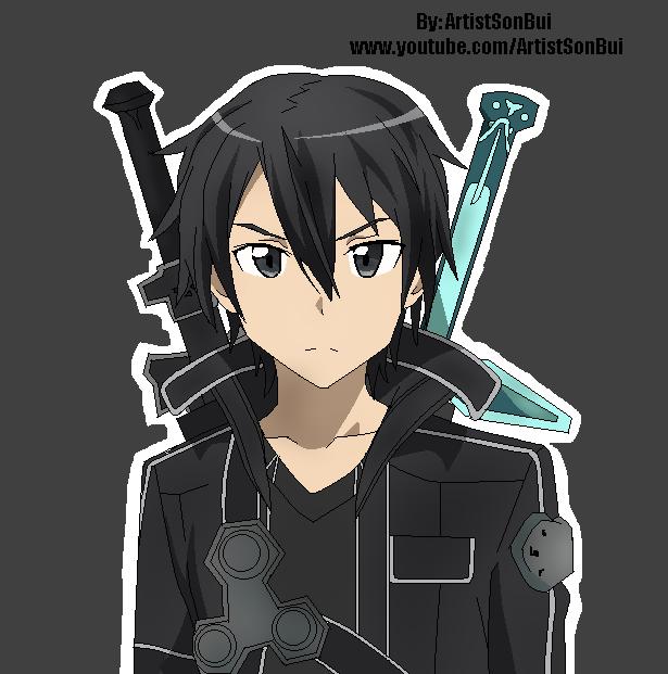 Sword Art Online Kirito by SonBui