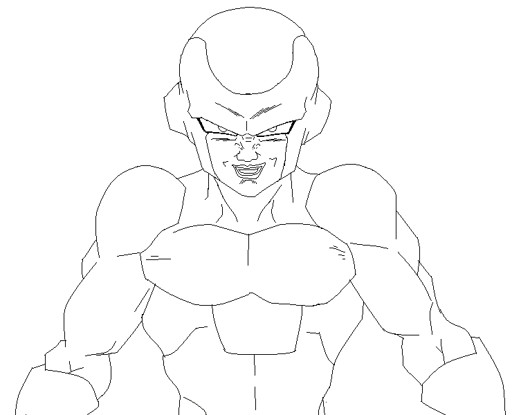 dbz coloring pages frieza - photo#23