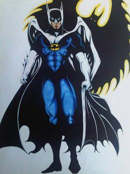 MY VERSION OF BATMAN COLOR