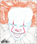 PENNYWISE 2017 PENCIL