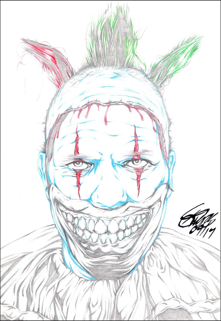 TWISTY THE CLOWN PENCIL by ARTofTROY