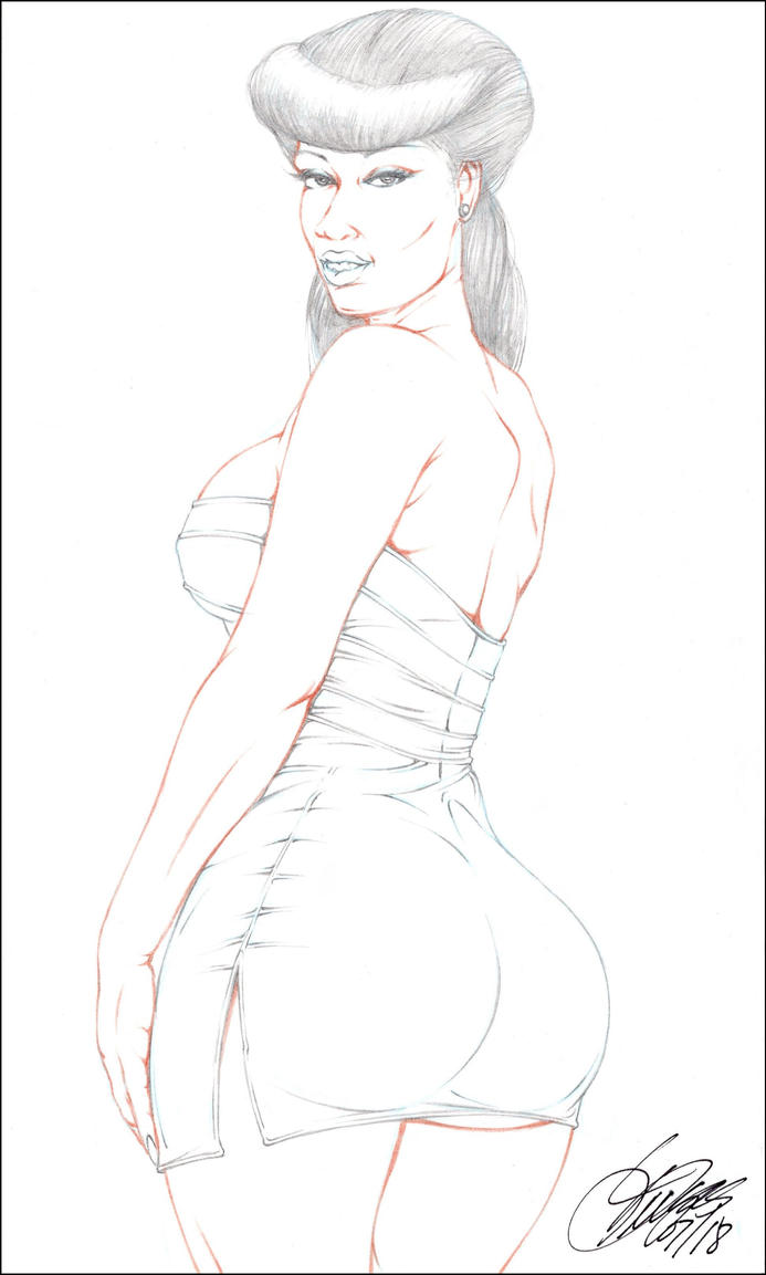 LONETTE PENCIL by ARTofTROY