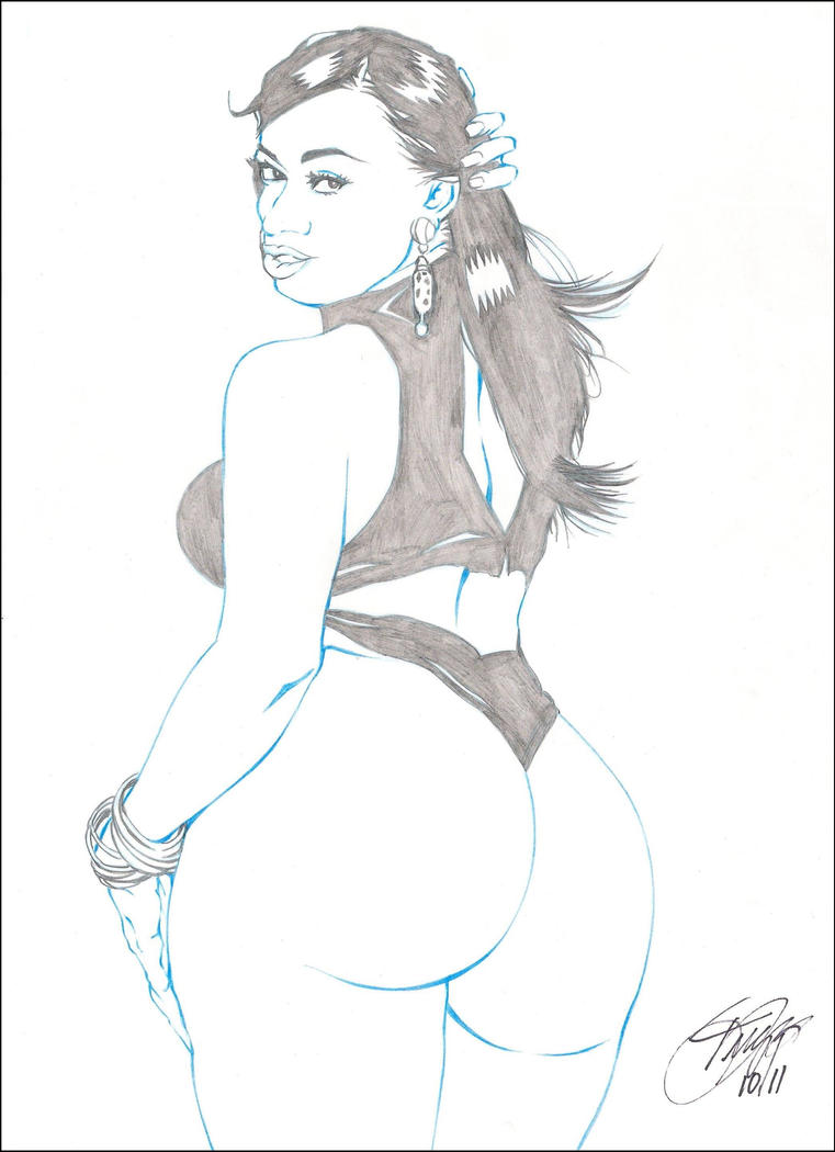 CUBANA LUST PENCIL by ARTofTROY