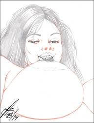TIG OL' BITTY 4 PENCIL by ARTofTROY