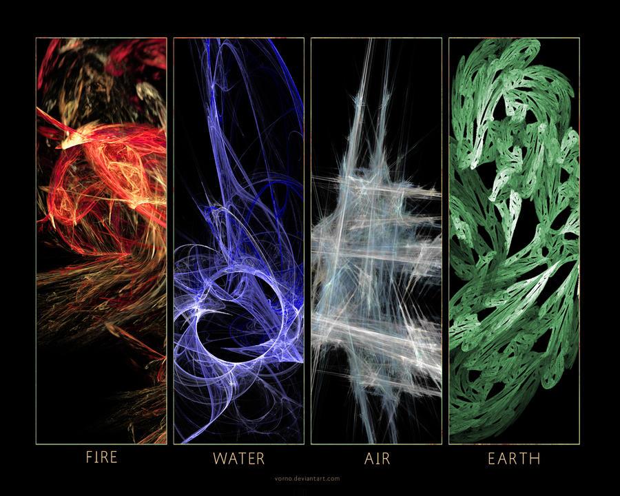 The Natural Elements By Vorno On Deviantart