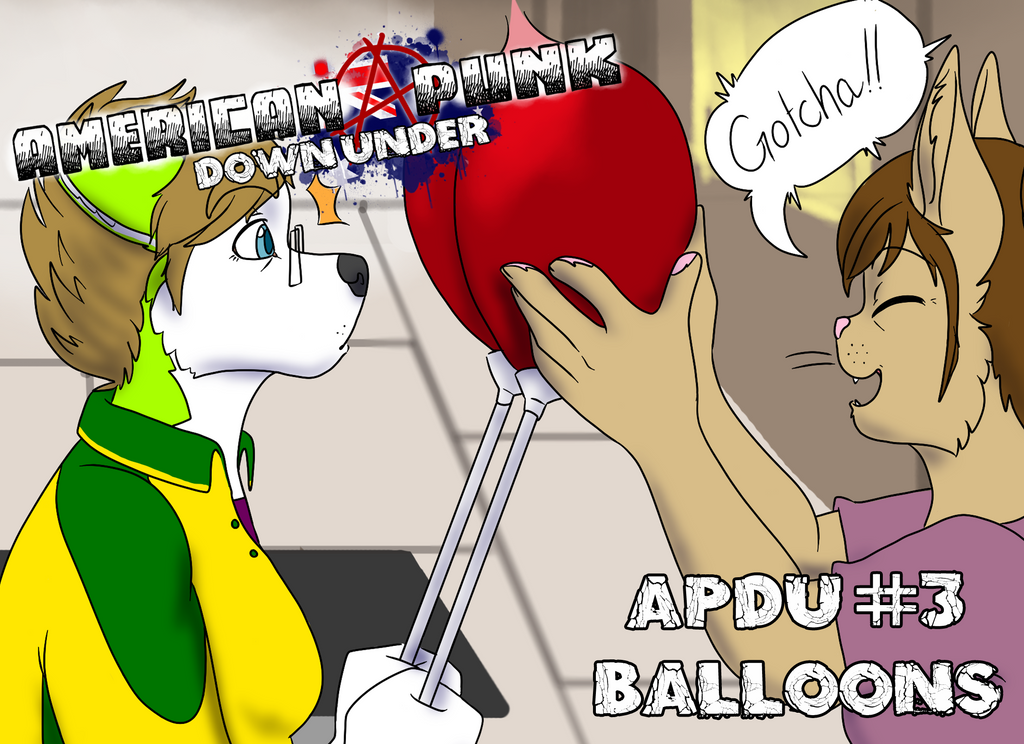 American Punk: Down Under 3 - Balloons by Backwardstwin2