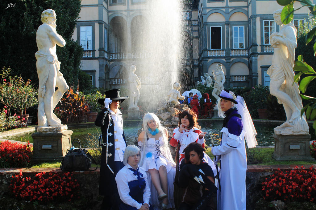 Pandora Hearts - Group Cosplay by Jess-chan91