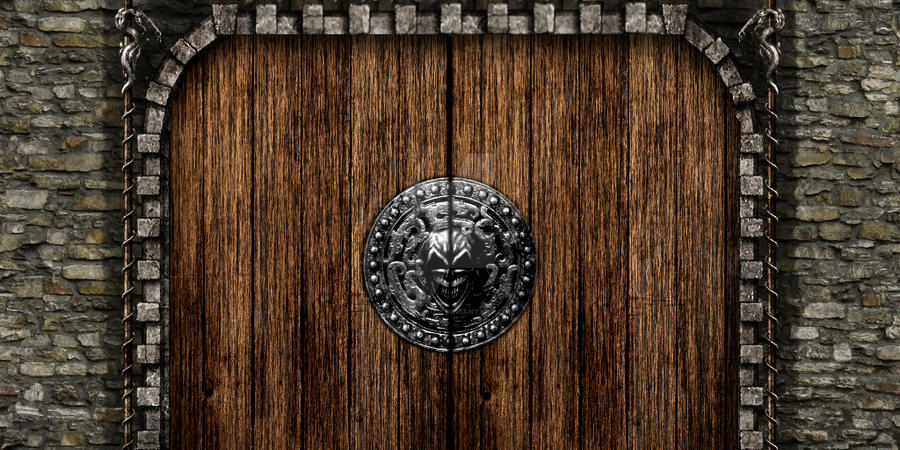 Castle door by reddevil028 ... & Castle door by reddevil028 on DeviantArt