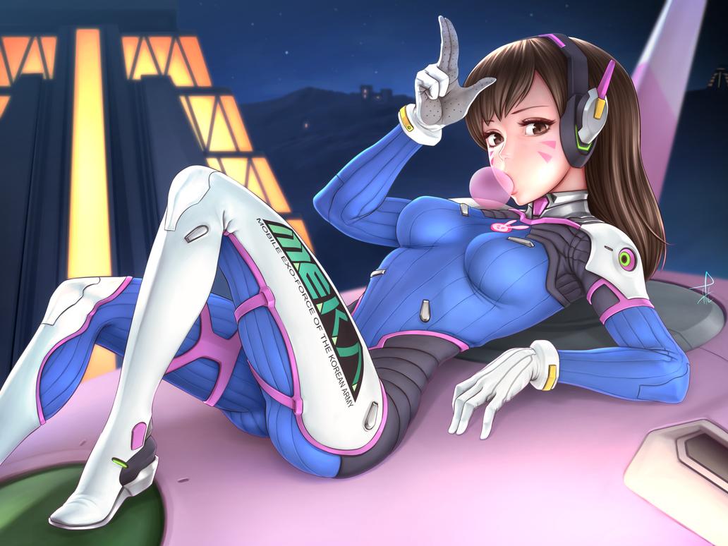 Overwatch - D.Va by Horuto