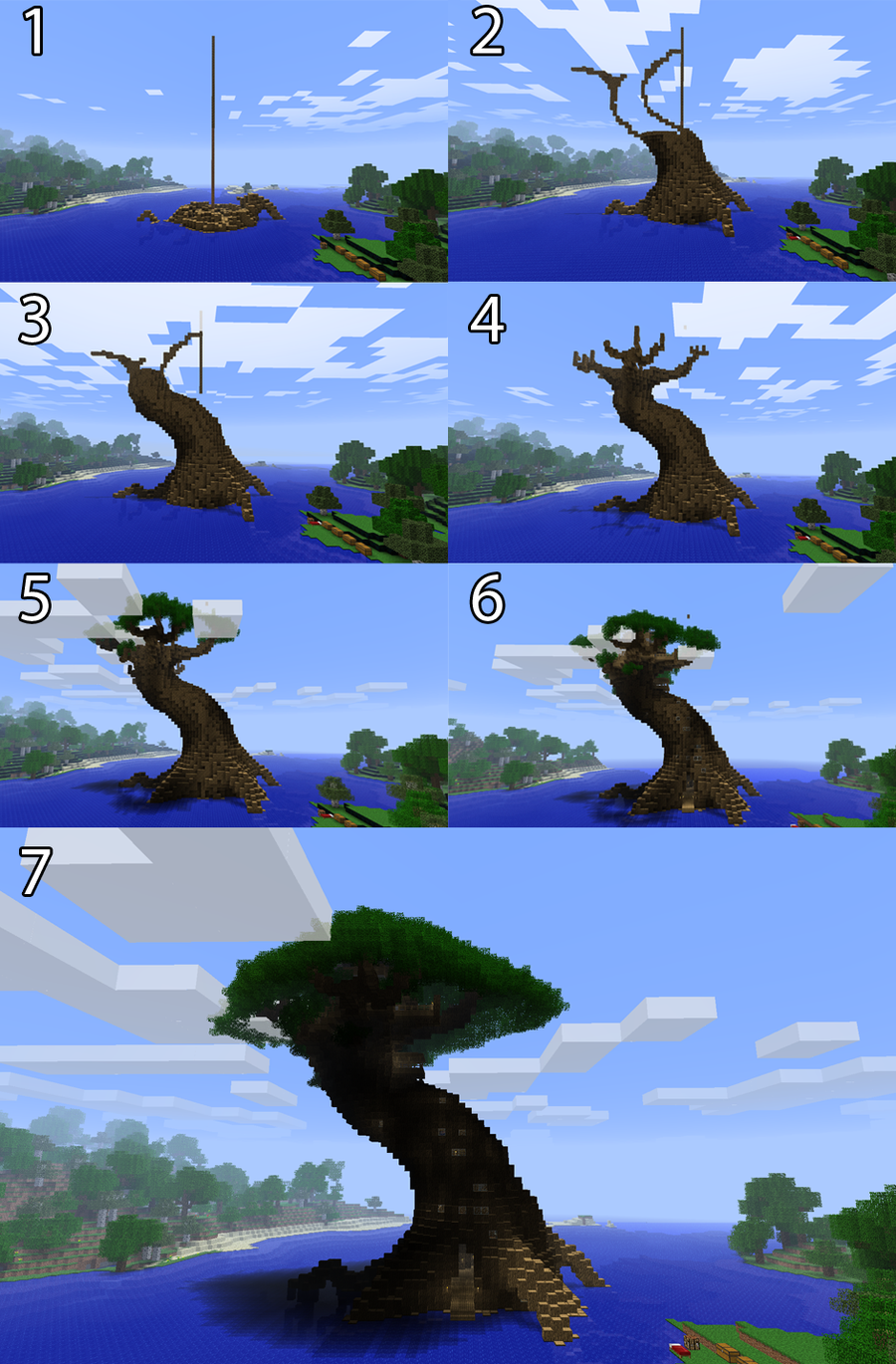 Minecraft tree of life steps by adrian drott on deviantart - Things to consider when building a house ...