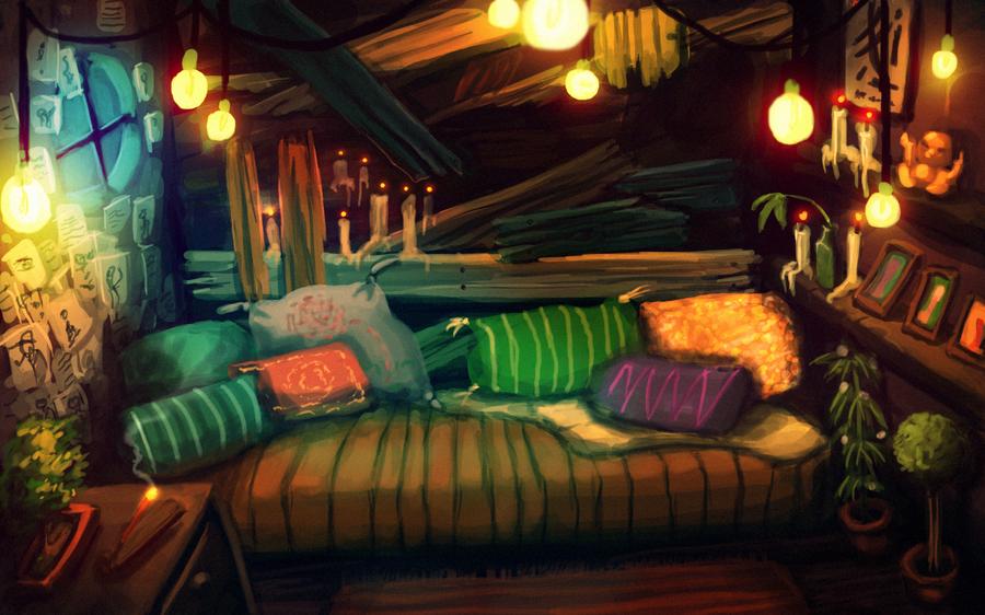 Room speedpaint by Adrian-Drott