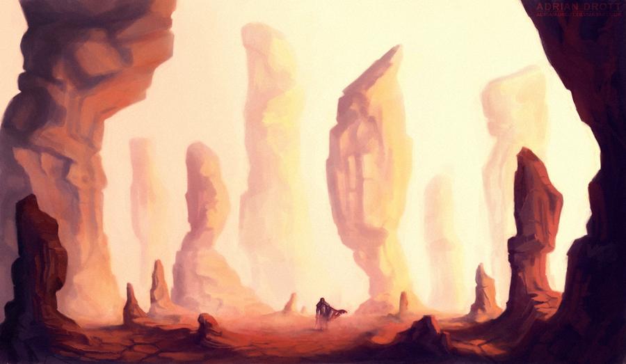 Lone Journey by Adrian-Drott