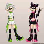 Squid Sisters [Old Designs]