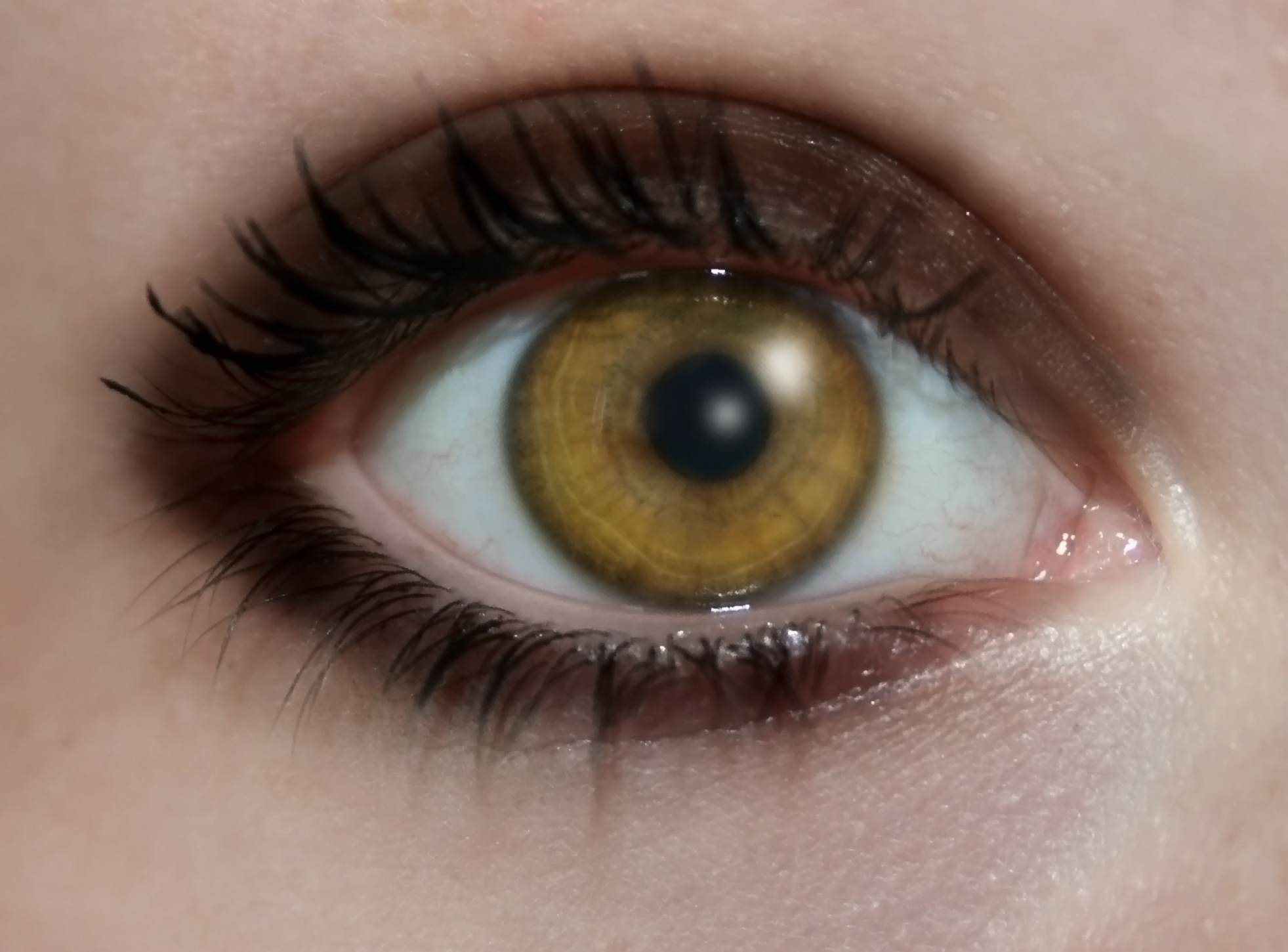 Human Eye Natural Frequency